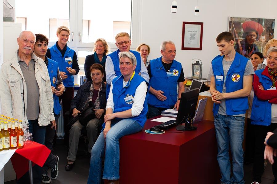 Das Team der Bahnhofsmission Köln