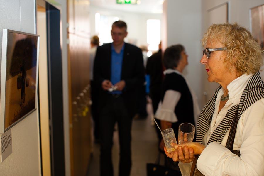 Kunstkennerin Gertrud Siemons, ehrenamtliche Mitarbeiterin Bahnhofsmission Köln